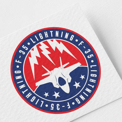 Logo design for F-35 Fighter Patch