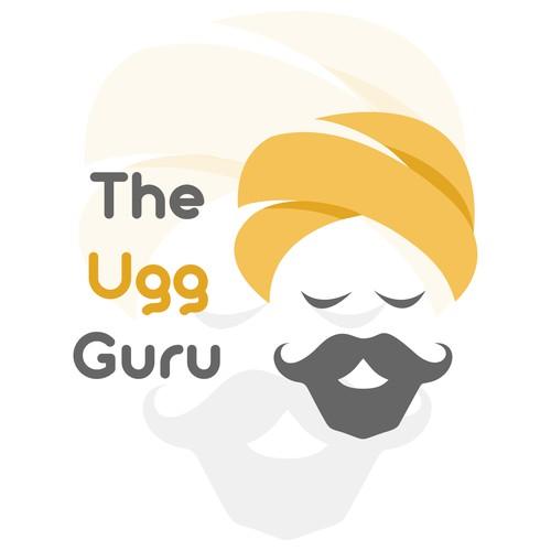 the ugg guru logo design
