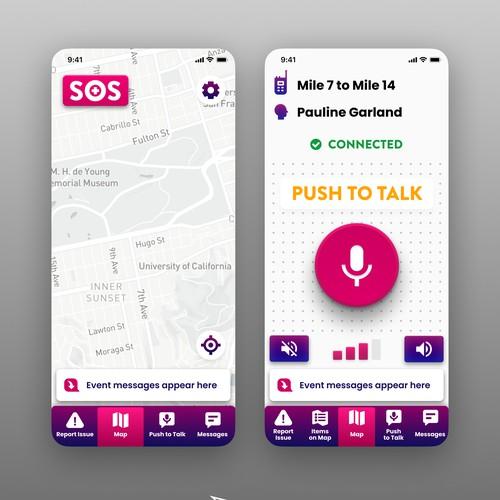 iPhone App Design - Event Operations App