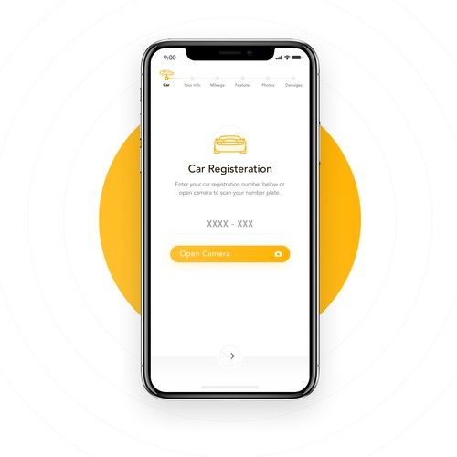 Car selling App design