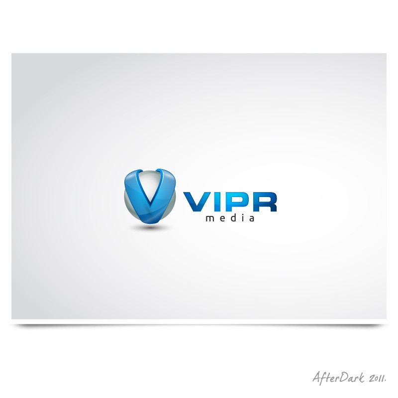 Create the next logo for VIPR Media