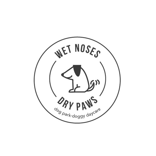 Wet Noses Dry Paws Dog Park.