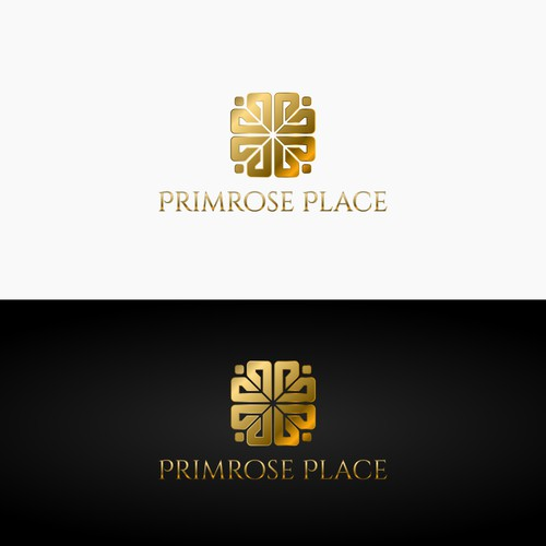 Bold logo concept for a real estate firm.
