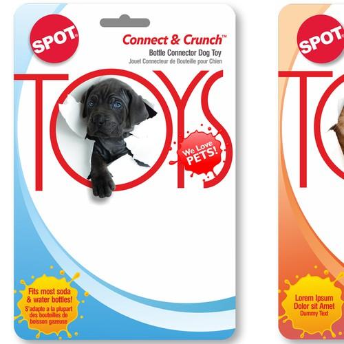 Packs for Pet Toys