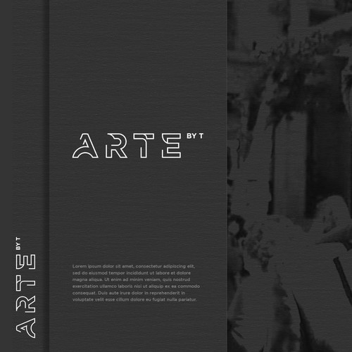 Logo Concept for arte by t