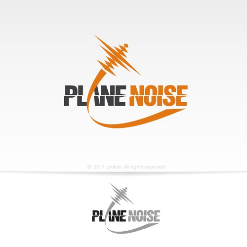Logo Design for PlaneNoise