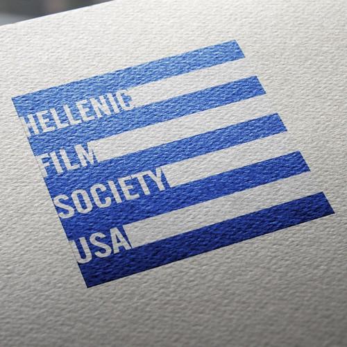 Logo for the Hellenic Film Society