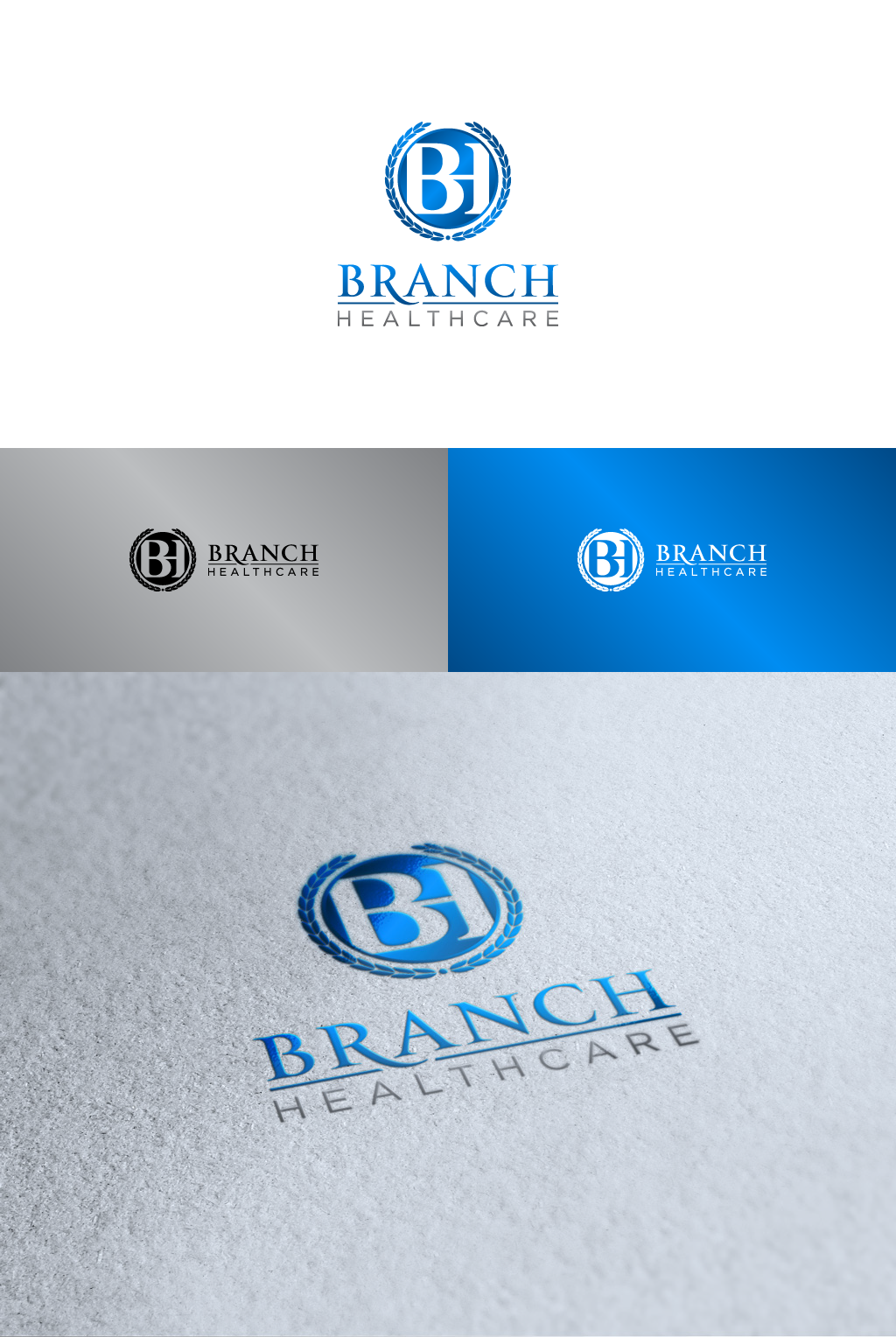 Create the next logo for Branch Healthcare