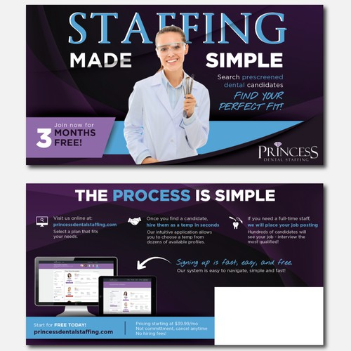 EDDM Mailer for Staffing Agency