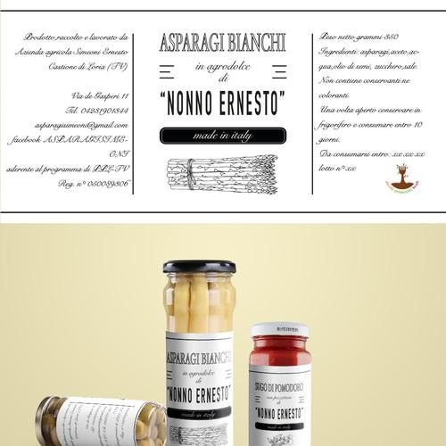 etichetta design