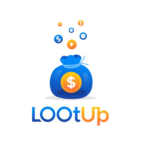 Playful Logo For Loot Up