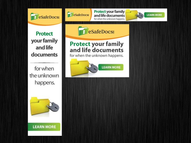 New banner ad wanted for eSafeDocs.com