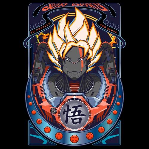 Goku Mecha style