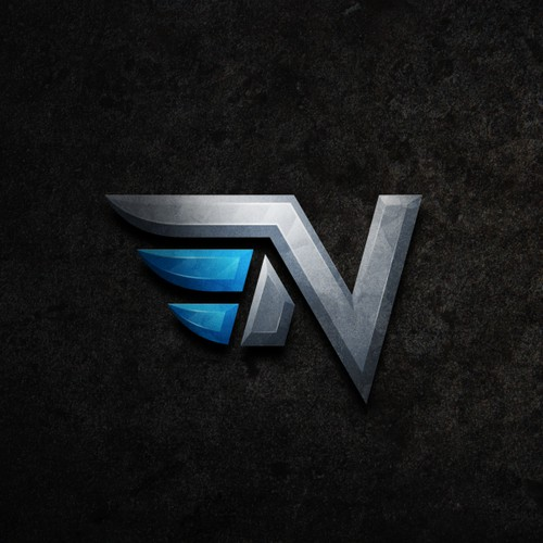 Bold and strong logo for esports media company