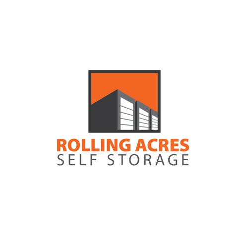 logo concept for storage facility