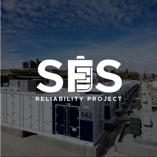 Simple Modern Logo for Utility-Scale Battery Energy Storage Facility in Los Angeles