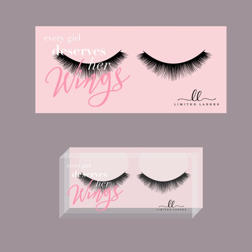 Simple Lashes Packaging