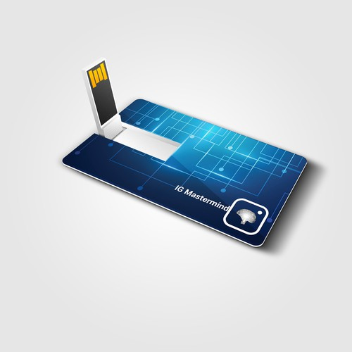 USB designed Business card