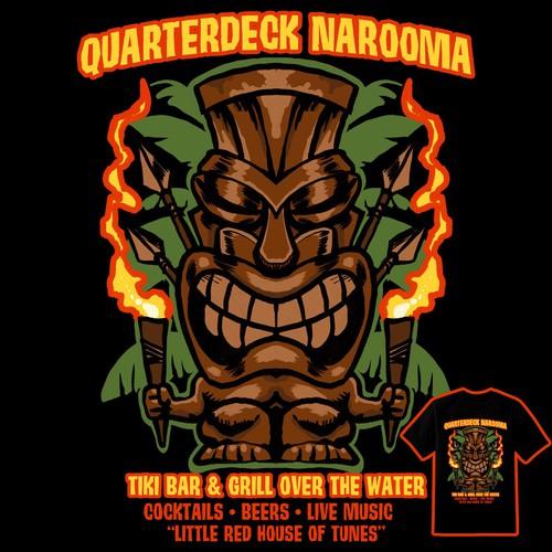 Tiki design for Quarterdeck Narooma