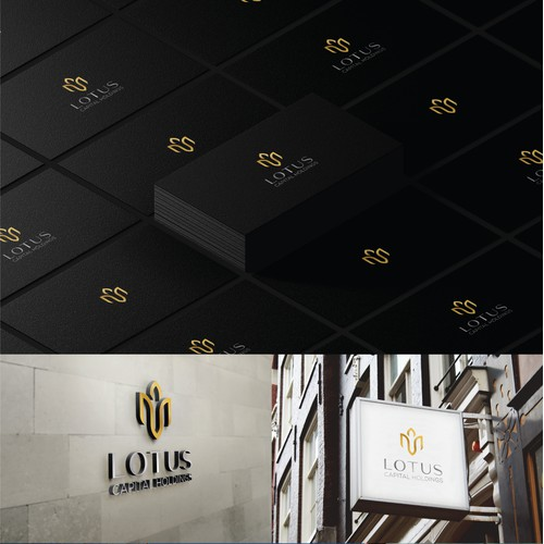 Logo design for high end financial sector of investment capital