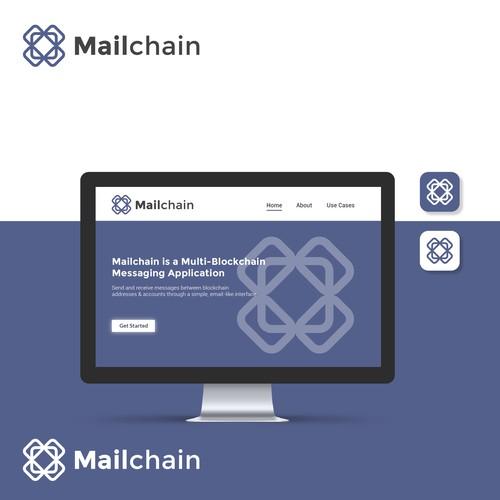 Clean logo for messaging platform