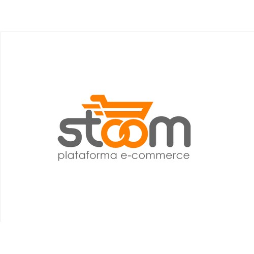 Create a logo for an e-commerce platform for Stoom