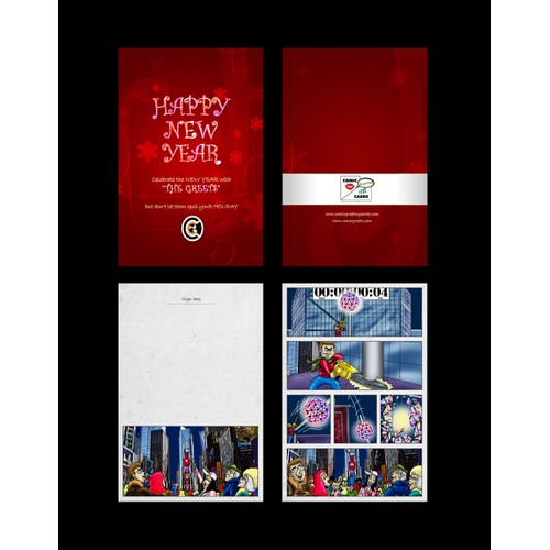 Help Comic Greeting Cards with a new card or invitation