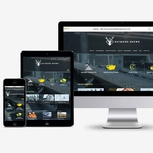 Modern and Responsive Website