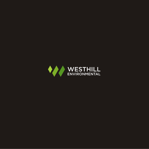 Create a clean, fresh logo for Westhill Environmental