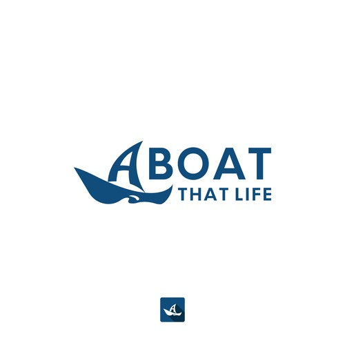 Logo finalists for Aboat That Life logo contest.