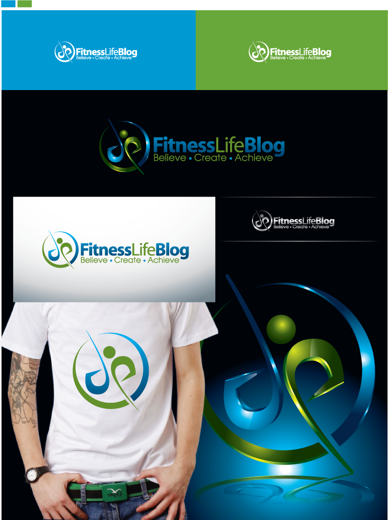 New logo wanted for Fitness Life Blog