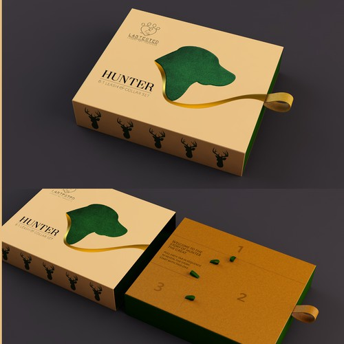 Packaging Design for Dog Leash & Collar Set