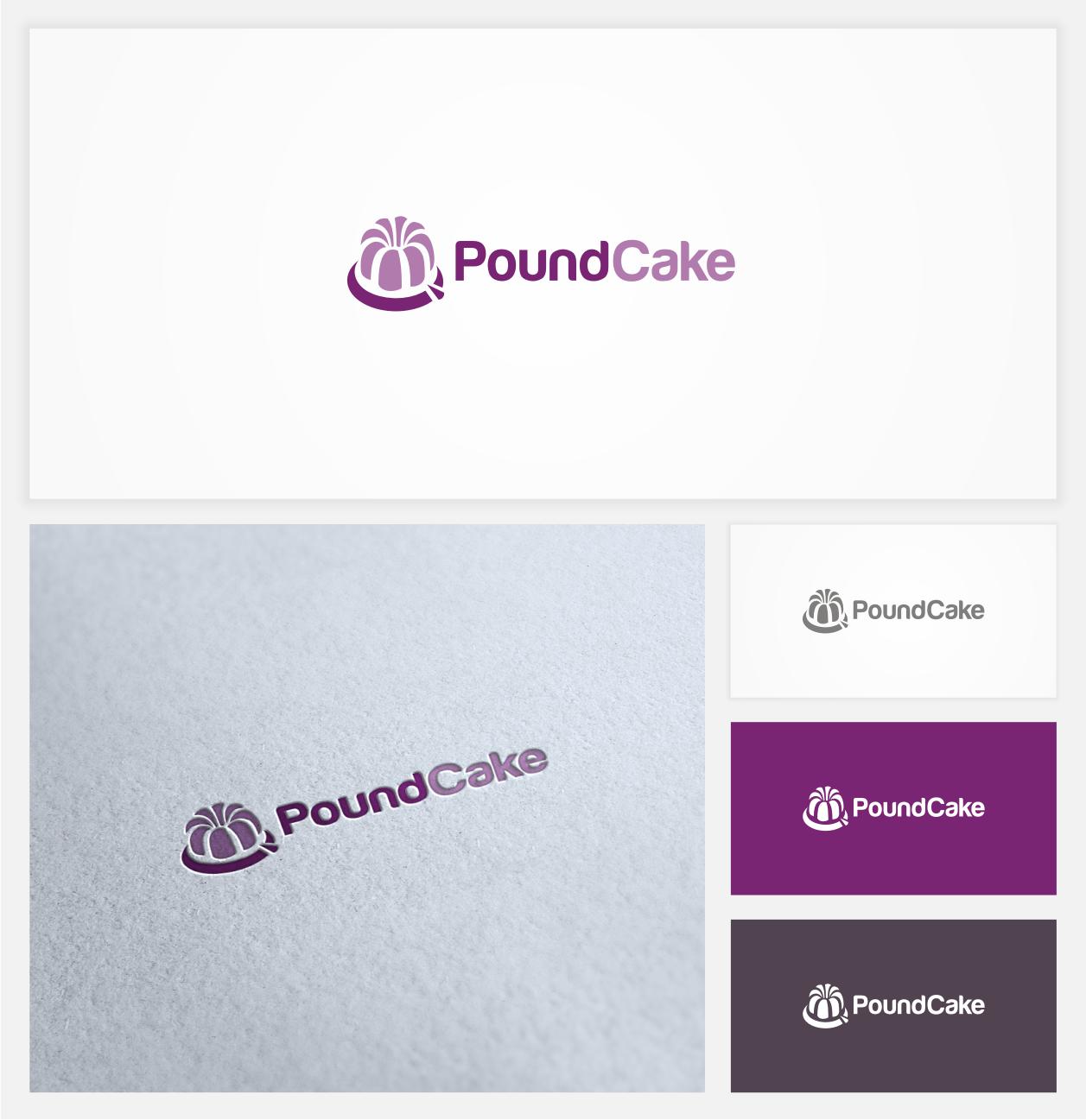 Create the next logo for Pound Cake