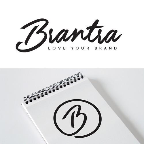 Modern / Hand Lettered Style Logo