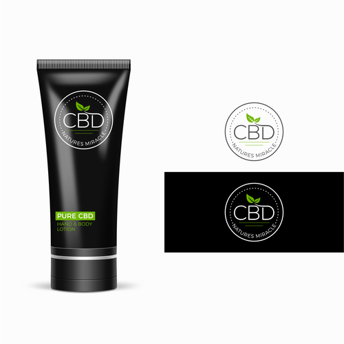 Logo design for CBD Natures Miracle