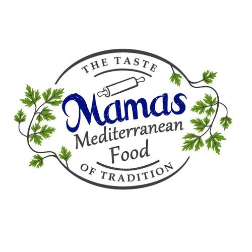 Mediterranean Food Logo