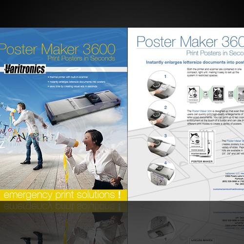Create the next postcard or flyer for Varitronics, LLC