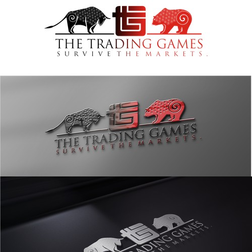create a logo for the trading games