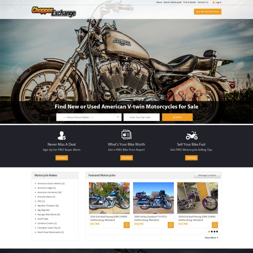 Website Page Redesign