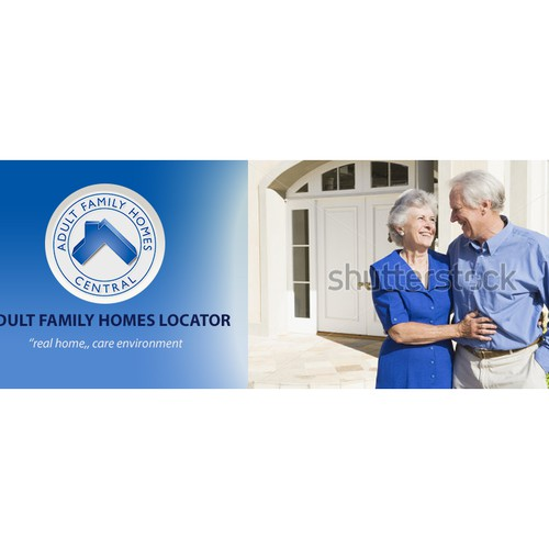 Website header-banner for Adult Family Homes Central