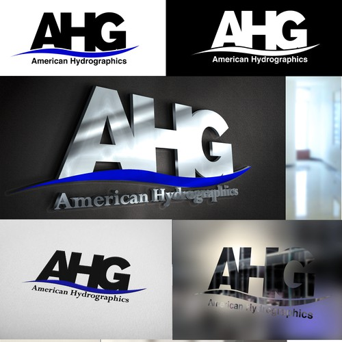 Create a brand for a new HydroGraphics supply company