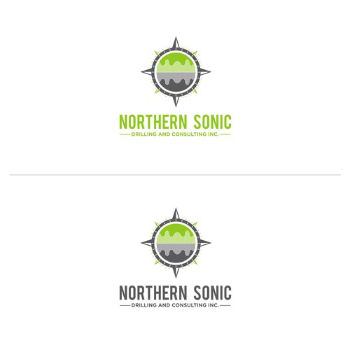 Modern logo design for an Environmental Consulting and Drilling Firm