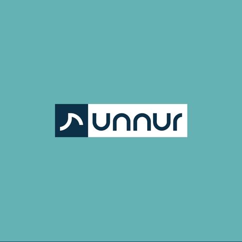 Logo for fitness company Runnur