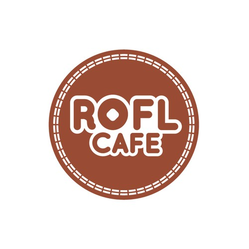 logo for ROFL CAFE