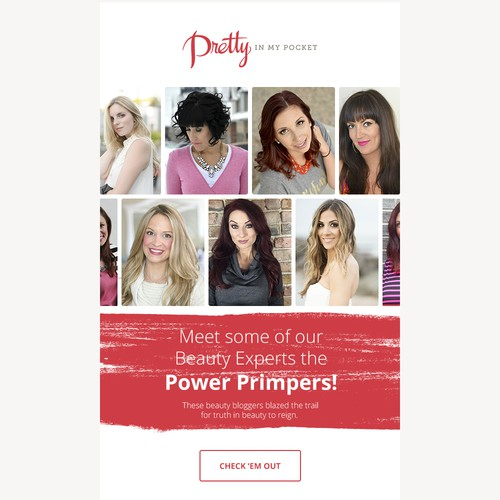 Email Template for Power Primpers