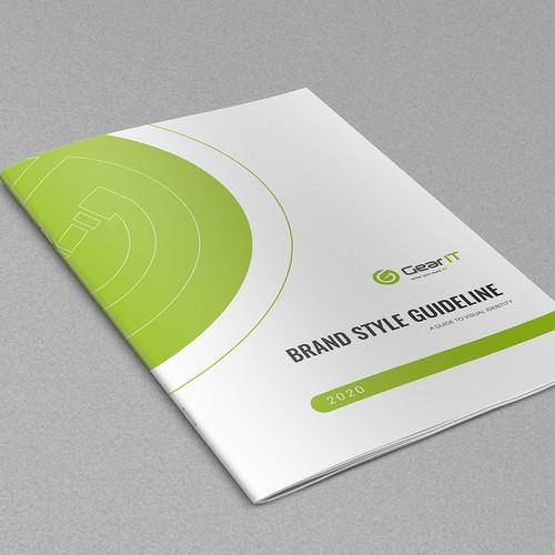 Custom Brand Guide for Tech Brand