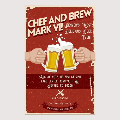 Chef and BREW wants YOU! to design our poster!