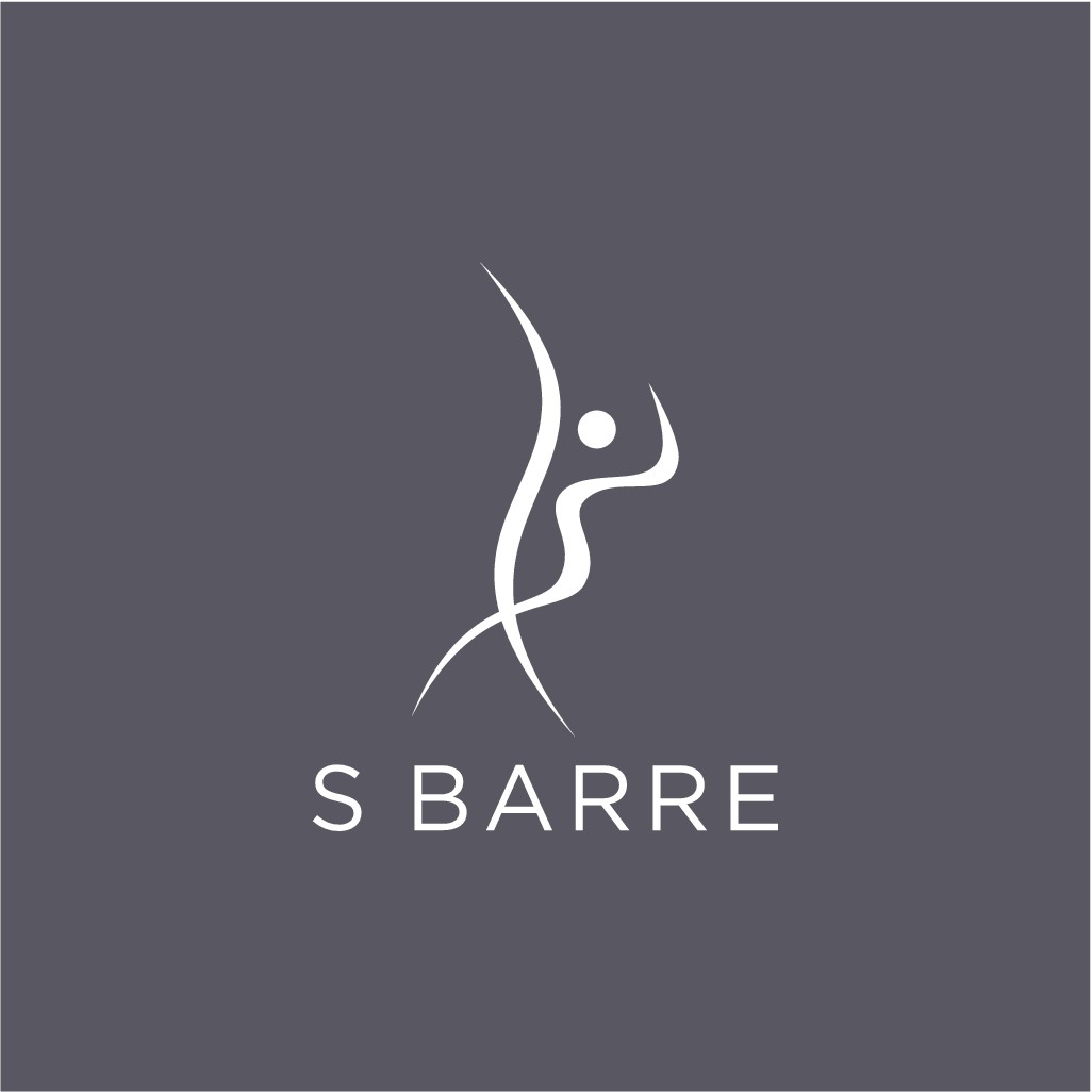 Create a sophisticated & minimal logo for hot new workout class S Barre and its equipment!