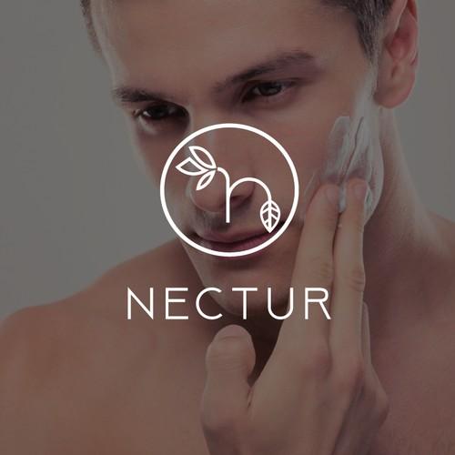 Logo concept for men skincare product