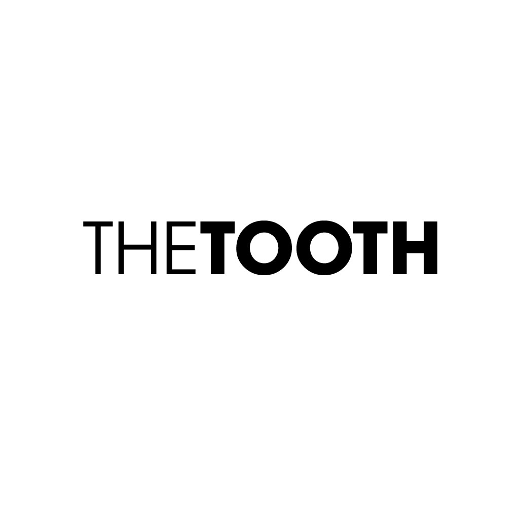 Create the image of 'The TOOTH,' a new kind of dental experience :).